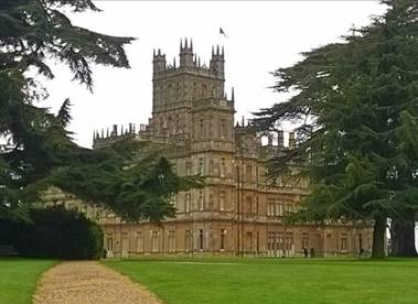 Sailing to Downton Abbey