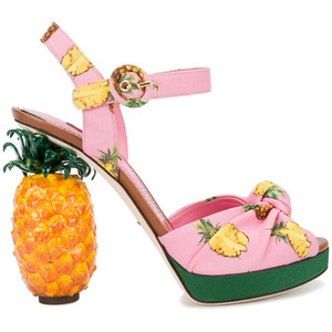 Spring Shoes - D&G pineapple sandals