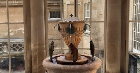A weekend in Bath - The Pump Room
