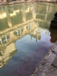A weekend in Bath - Roman Bath reflections